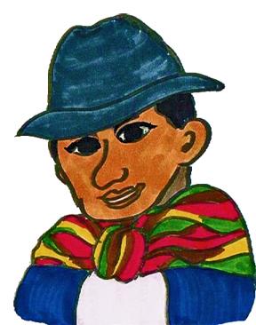 ボリビア人の服装